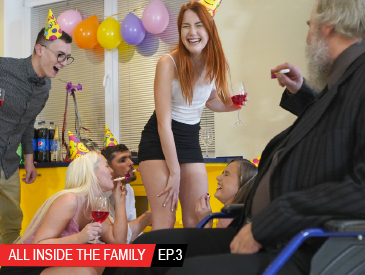 All inside the family Ep.3 Crazy birthday party!