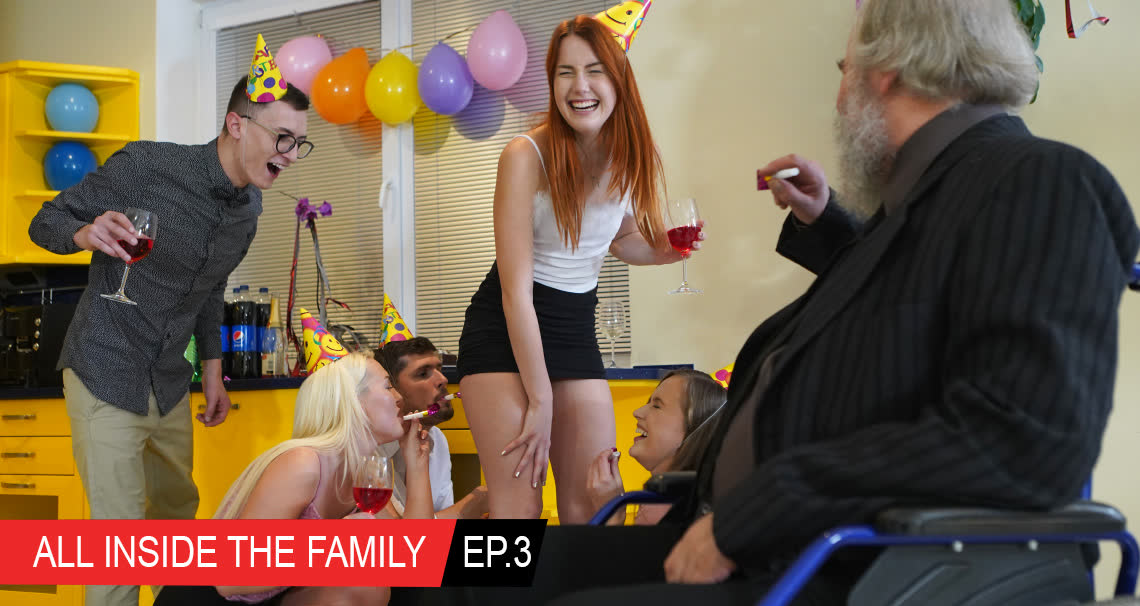 All inside the family Ep.3 Crazy birthday par