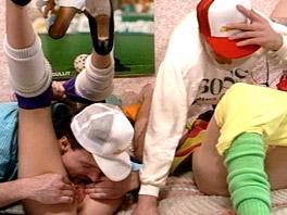 Teaching a teen how to enjoy an orgy