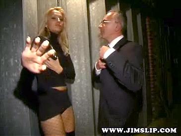 jim slip blonde Street sluts