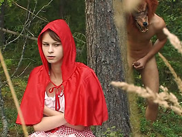 Little Red Riding Hood gets a surprise