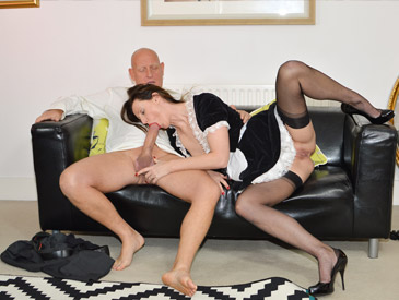French Maid Gets Fucked
