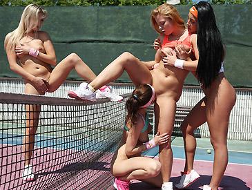 Not Wimbledon 2015 Women's Double Final