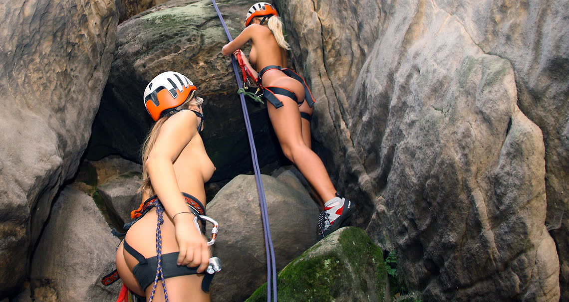 Opinion Rock climb sex clip advise you