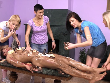 Chocolate sex party