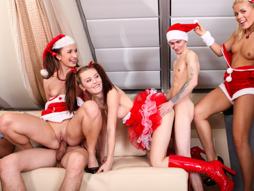 Naughty Christmas party