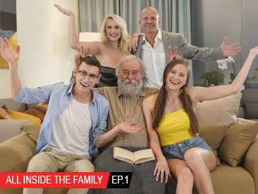 All inside the family Ep.1 Oops I fucked my stepmom!