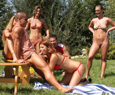 Croquet groupsex